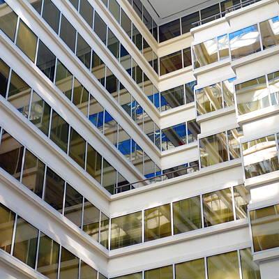Modern Office Building Print by Valentino Visentini