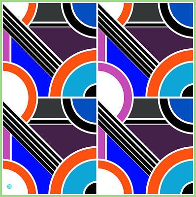 Modern Pop Art Abstract 2 Print by Gary Grayson