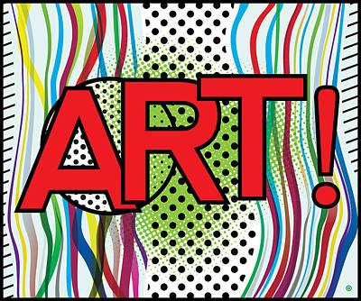 Digital Art - Modern Pop Art by Gary Grayson