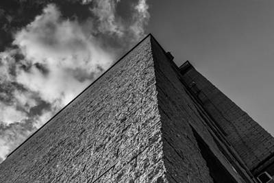 Photograph - Modern Pyramid Effect Style Building by John Williams