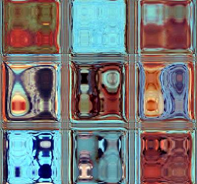 Photograph - Modern Reflections Abstract by Deena Stoddard