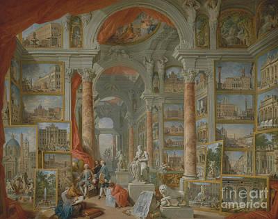 Modern Rome, 1757 Art Print