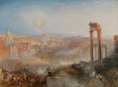 Painting - Modern Rome Campo Vaccino by William Turner