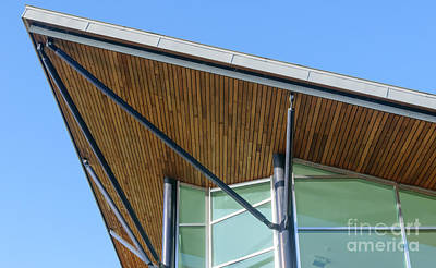 Photograph - Modern Roof by Colin Rayner