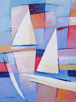 Painting - Modern Seascape Painting by Lutz Baar