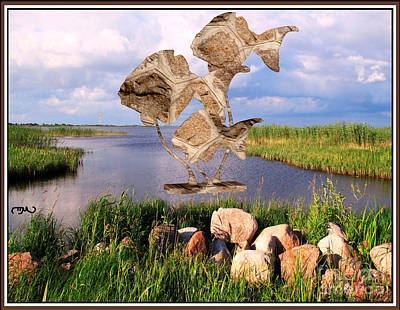 Modern Statue Of Pisces 8 Original