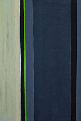 Edge Painting - Modern Stripe 1  by Slade Roberts