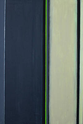 Edge Painting - Modern Stripe 2  by Slade Roberts