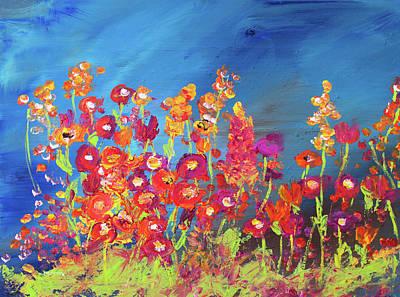Painting - Modern Wild Flower Painting by Ken Figurski