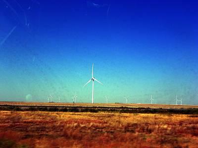 Photograph - Modern Wind Mills by Joseph Frank Baraba