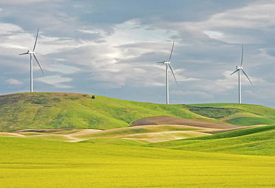 Photograph - Modern Wind Power by Doug Davidson