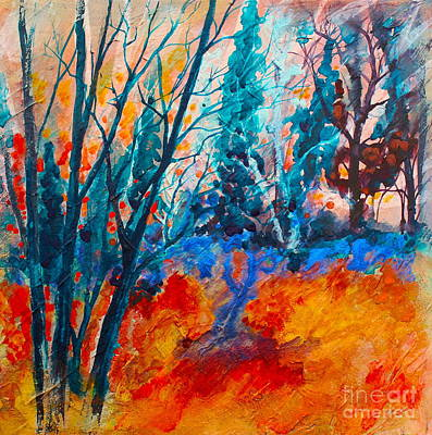 Painting - Modern Woods by Melanie Stanton