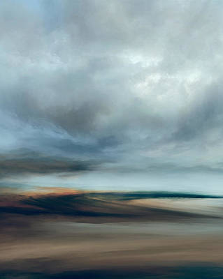 Landscapes Mixed Media - Modest Movement by Lonnie Christopher
