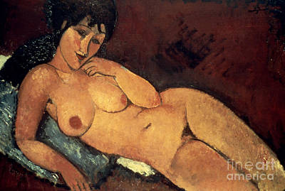 Modigliani: Nude, 1917 Art Print by Granger