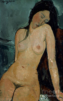 Amadeo Modigliani Photograph - Modigliani: Nude, C1917 by Granger