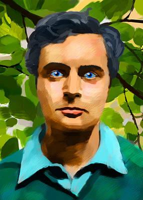 Modigliani's Portrait Original by Maciej Mackiewicz