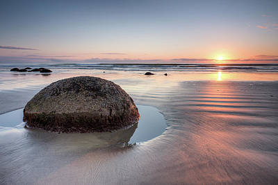 Photograph - Moeraki Revisited by Brad Grove