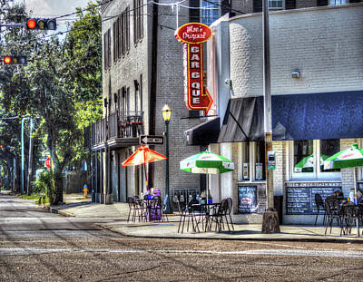 Photograph - Moe's Corner Mobile Alabama by Michael Thomas