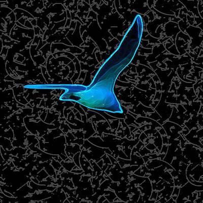 Moewe - Seagull Art Print by Nils Denker
