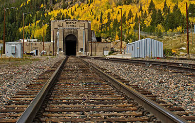 Moffat Tunnel Art Print