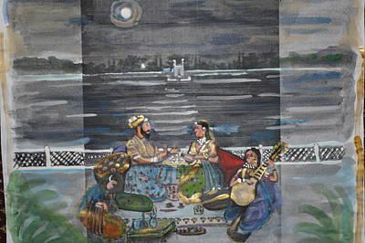 Painting - Mogul Moonlight by Vikram Singh