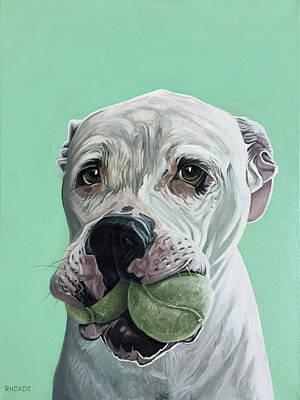 Painting - Mogul by Nathan Rhoads