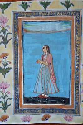 Painting - Mogul Princess by Vikram Singh