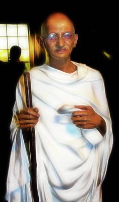 Photograph - Mohandas 'mahatma' Gandhi by Miroslava Jurcik