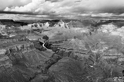 Photograph - Mohave Point 2 Black And White by Jim Moss