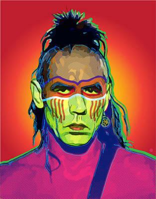 Digital Art - Mohawk by Gary Grayson