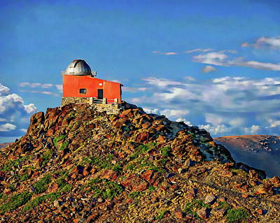 Photograph - Mohon Del Trigo Observatory by Anthony Dezenzio