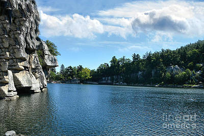 Photograph - Mohonk Lake by Judy Palkimas