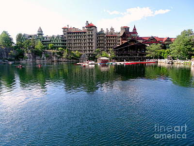 Photograph - Mohonk Mountain House by Ed Weidman