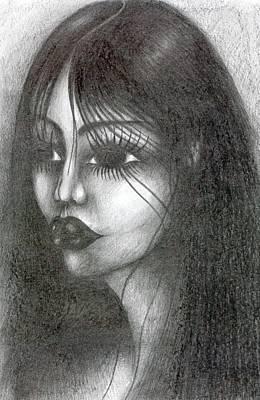 Creativity Drawing - Moisture by Wojtek Kowalski
