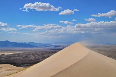 Photograph - Mojave Desert Kelso Dunes by Kyle Hanson