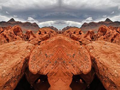 Photograph - Mojave Desert Mirror by Kyle Hanson