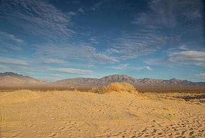 Photograph - Mojave Desert Sunset by Kunal Mehra