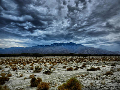 Photograph - Mojave Hdr 019 by Lance Vaughn