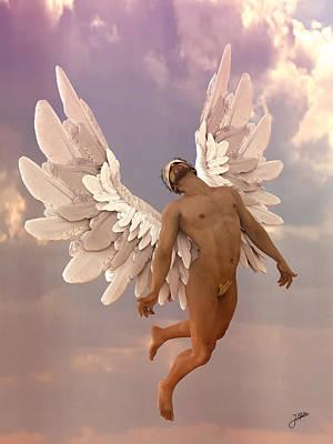 Mojito Angel Art Print