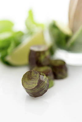 Photograph - Mojito Chocolates by Sabine Edrissi