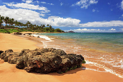 Photograph - Mokapu Beach Maui by James Eddy