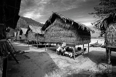 Photograph - Moken Village - Andaman Sea Thailand by Craig Lovell