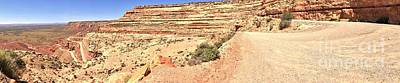 Photograph - Moki Dugway Panorama by Adam Jewell