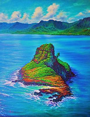 Mokolii Island - China Mans Hat Art Print