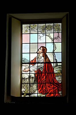 Mokuaikaua Church Stained Glass Window Art Print