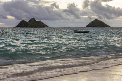 Hawaiin Photograph - Mokulua Islands by Penny Meyers