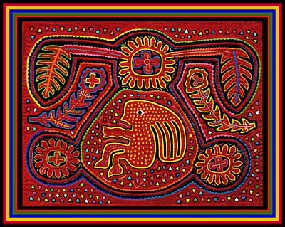Digital Art - Mola Dream Design by Vagabond Folk Art - Virginia Vivier