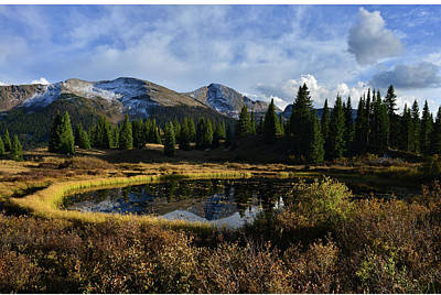 Photograph - Molas Pass Reflection by Ray Mathis