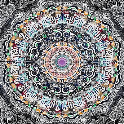 Molde Mandala-16 Lados-opcao2 Original by Beltolls Art