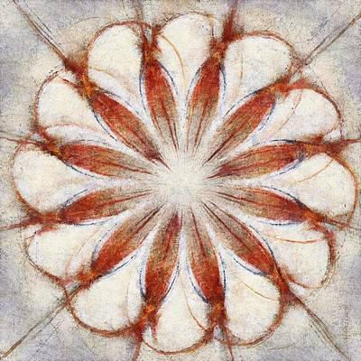 Slate Pattern Painting - Molds Pattern Flowers  Id 16164-035708-21570 by S Lurk